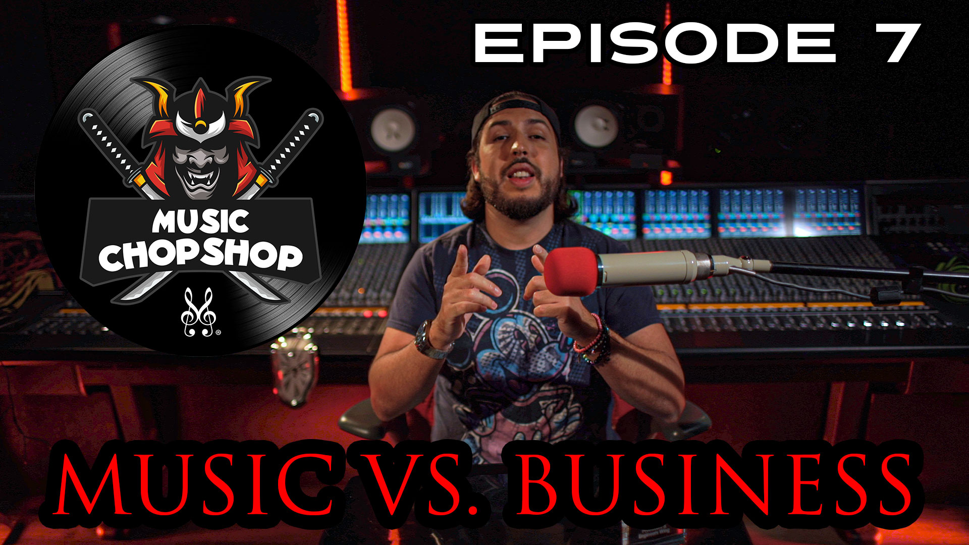 Music vs. Business | Music Chop Shop Podcast with @ALEX J | EP 7 (ENGLISH) | MusicMastermind.TV